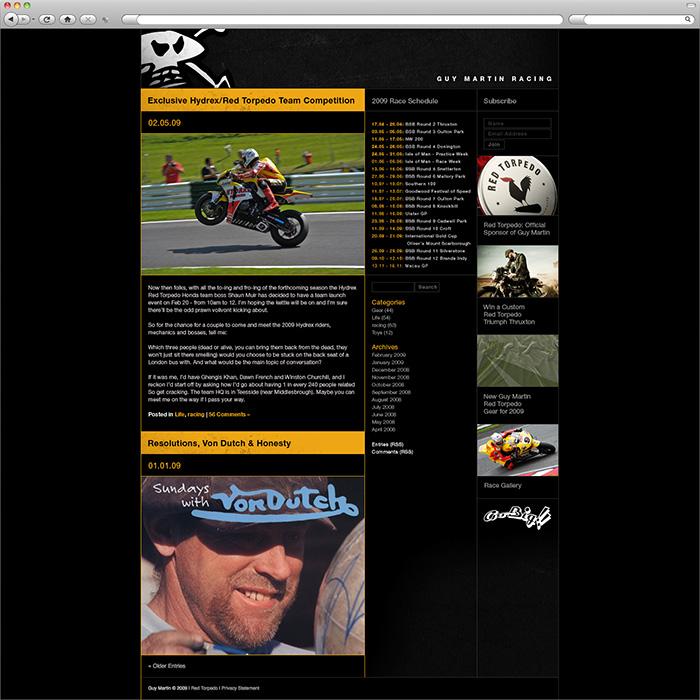 Guy Martin Website