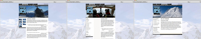 North Cascade Heli Website