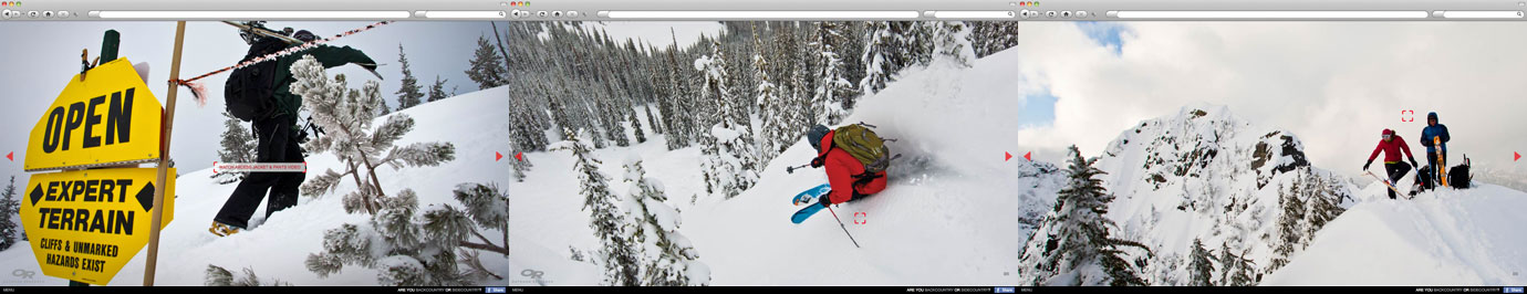 Outdoor Research Sidecountry / Backcountry Skiing