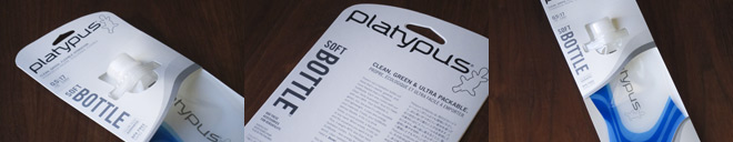 Platypus Hydration Product & Package Design