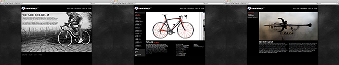 Ridley Bikes Website