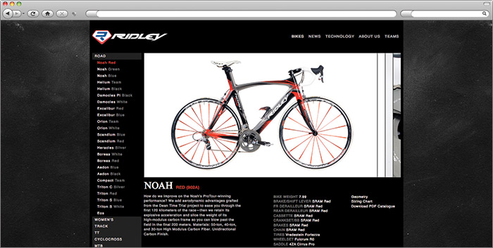 Ridley Bikes Product